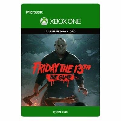 Friday the 13th The Game XBOX ONE GAME Digital Download Code (no disc) BRAND NEW