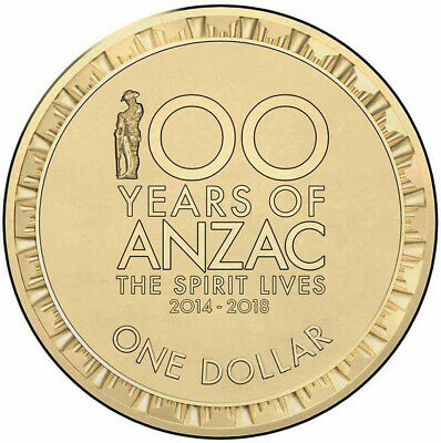 🇦🇺2018 AUSTRALIAN $2 Coin Special Color Edition Coin - Low Mintage