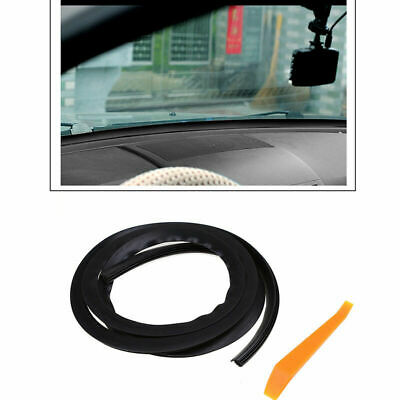 1xRubber 1.6M Sound Proof Dust Proof Sealing Strip For Car Windshield Dashboard