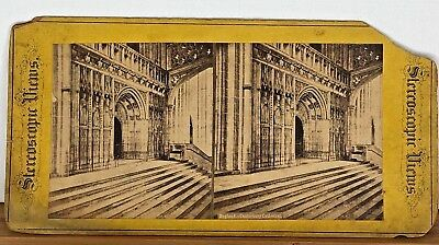 Stereoview England - Canterbury Cathedral - Stereoscopic Views