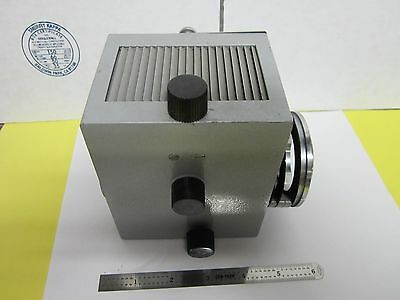 Leitz Wetzlar Germany Ortholux Lamp Housing Microscope Optics As Is Bin#H1-03