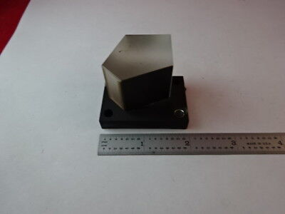 Microscope Part Zeiss Germany Penta Prism Glass Mounted Optics As Is #88-45