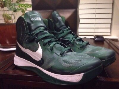 da8e99852830 Nike Hyperfuse TB 525019 300 Size 17.5 Forest Green White basketball shoes