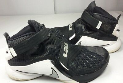 best loved 75fa7 6c913 Nike Zoom Men s Lebron James Soldier IX Basketball Shoes 749498 EUC! Size  11 45