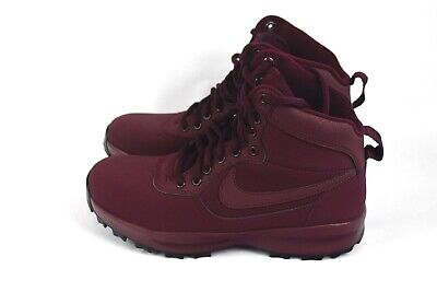 newest collection ffe04 dc67e Nike Manoadome Hiking Sneaker Boots Maroon 844358 600 Men s Size 8