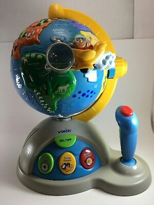 VTech Fly and Learn Geography Globe toy activities joy stick