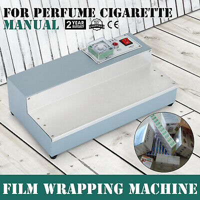 220V Cigarette Perfume Box Cellophane Wrapping Machine Plate Film Packing Design
