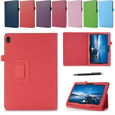 For Lenovo Tab E10 TB-X104F 10.1'' Tablet PU Leather Flip Stand Cover Case Skin