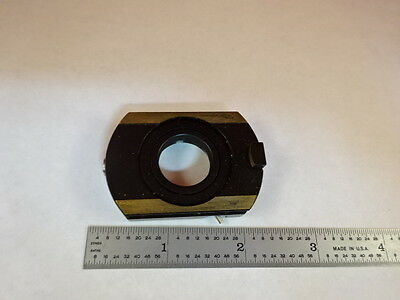 Microscope Part Zeiss Polarizer Objective Holder Pol Optics As Is #X6-B-12