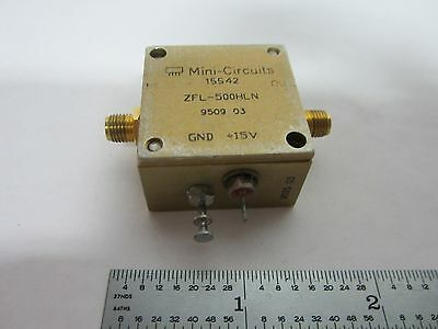 Mini Circuits Rf Amplifier Frequency Zfl-500Hln Bin#k1-12