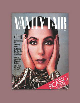 Vanity Fair Magazine-Cher Turns 40-May 1986-Picasso Sketchbooks-Studio 54 Cultur