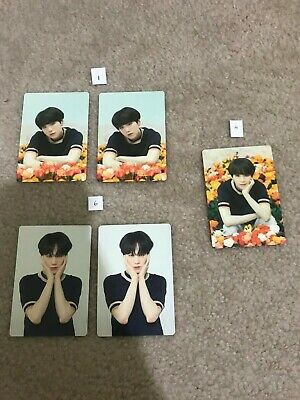 BTS Suga Love Yourself Japan Tour Official Photocards