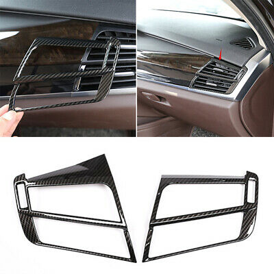 ABS Interior Middle Central Air Vent Outlet Trim for BMW X5 X6 F15 F16 2015-2017