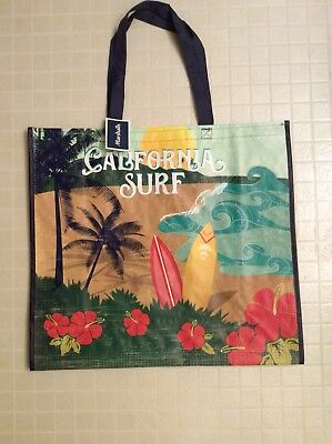 NEW Marshalls Shopping Travel Tote Bag A Walk In The Rain Reusable Eco Friendly