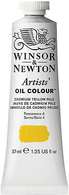 Winsor and Newton Winton Oil Paint: Cadmium Yellow Pale, 37 ML