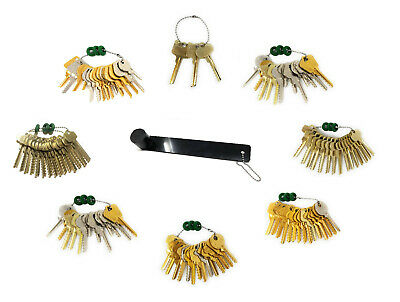 105 Piece Depth Key Set with Bump Rings and Bump Hammer
