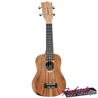 Tanglewood TWT7 Tiare Soprano Ukulele with All Koa Body and Arched Back