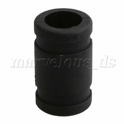 """Racing Car 1.5 x 0.9"""" Black Rubber Exhaust Connector for 1:8 Model Car"""