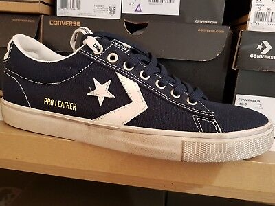 045b7fc428 CONVERSE PRO LEATHER MID LTD BLU 137719C Sneakers Scarpe da Uomo ...