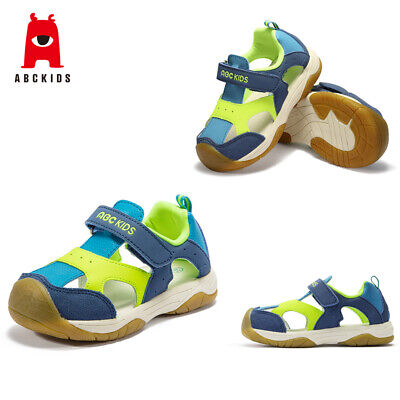 ABC KIDS Baby Boys Toddler Summer Sandals Anti-Slip Ankle Strap Shoes Soft Soled