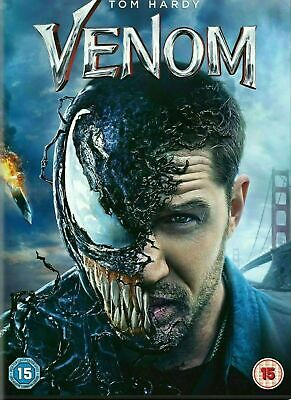 Venom Movie On Dvd (2019) Brand New And Sealed, Region 2 Uk