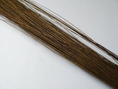90Pcs Coffee Covered Florist Wire for Floristry/Crafts 18#