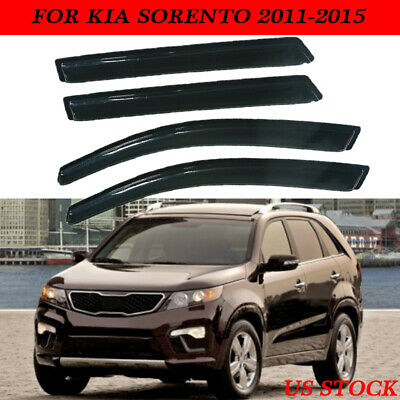 4x For Toyota Sequoia 2001-2007 window visor sun guard rain deflector vent shade