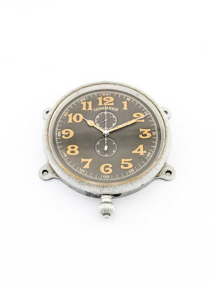 Extremely rare Longines Cockpit Aviation deck watch Chronograph made around 1910