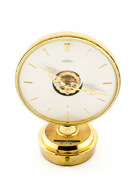 Angelus partner desk DUO FACE clock with 8 day movement and alarm,1960´s