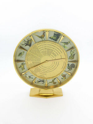 Rare Jaeger-LeCoultre Table Clock with 8 day movement, made for hunters, 1950s