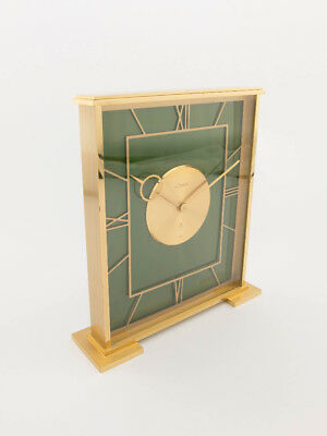 Rare Jaeger-LeCoultre table clock with 8 day movement ,1950s