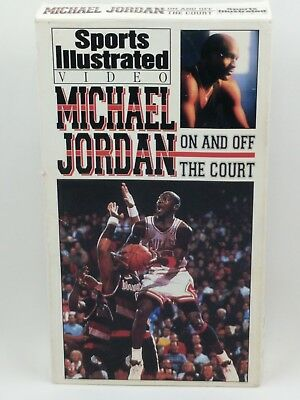 Michael Jordan On and Off The Court Basketball VHS Rare Vintage 1993 Air Dunk