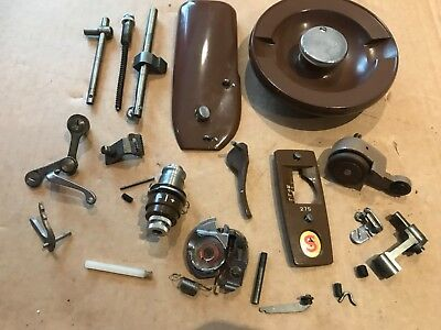 Vintage singer 275 sewing machine replacement parts/attachments/accessories brow