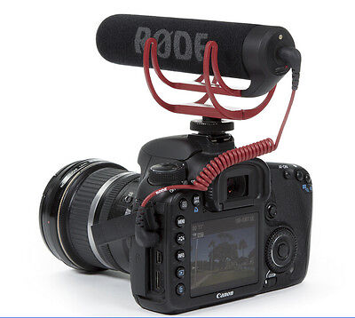 Rode Videomic VidMic GO On Camera Shoe Mount Rycote Lyre Onboard Microphone-New