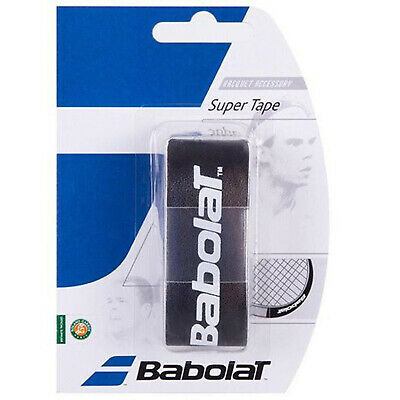 Babolat Tennis Racket Head Protection Super Tape Black (5 Pack)