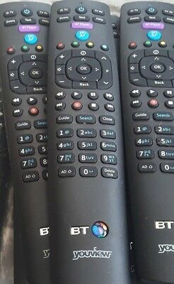 Genuine BT YouView Remote Control RC3124705/01B UK Seller