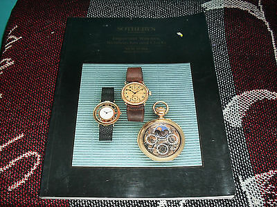 Sotheby's New York Auction Catalogue June 1993 - Important Watches & Clocks