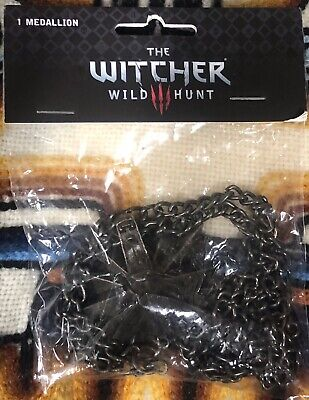 The Witcher Wild Hunt Medallion Necklace  officially Licensed - J!NX