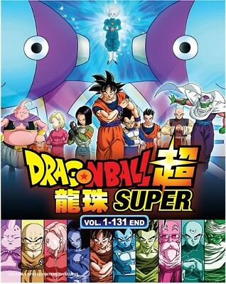 Anime DVD Dragon Ball Super Complete Set (Vol.1-131 End) FREE SHIPPING + Gift