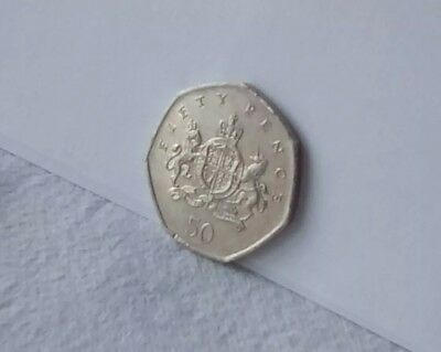 2013 Christopher Ironside 50p Fifty Pence Coin Circulated