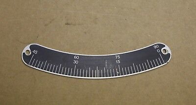 """Delta Rockwell 12-14"""" Tilting Arbor Saw 34-395 Rule Scale"""