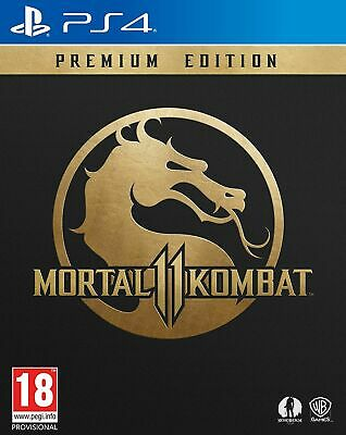 Mortal Kombat 11 Premium Edition (PS4) IN STOCK NOW Brand New & Sealed UK PAL