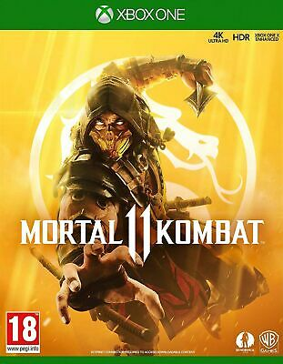 Mortal Kombat 11 (Xbox One) IN STOCK NOW Brand New & Sealed UK PAL