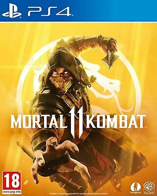 Mortal Kombat 11 (PS4) IN STOCK NOW Brand New & Sealed UK PAL Free UK Postage