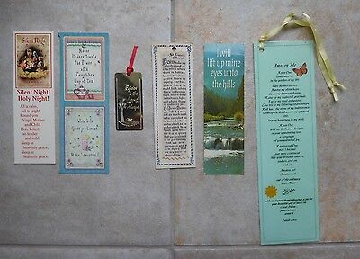 Lot of 13 Religious/Inspirational Bookmarks