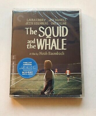 THE SQUID AND THE WHALE Criterion Collection BLU-RAY Sealed 4K Mastering