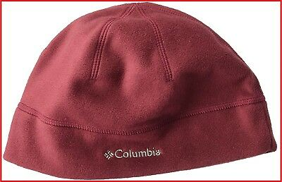 1dd3694af3522 Columbia Thermarator Omni-Heat Hat Rich Wine Unisex Fleece Beanie - 20 NWT!  L
