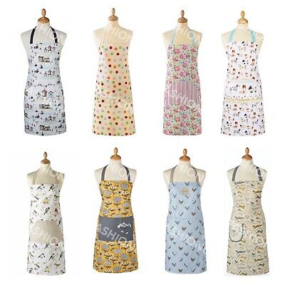 Cooksmart Kitchen Apron With Pocket Cooking Baking Paris Dogs Sweets Cakes