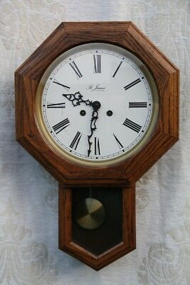 St James of London Franz Hermle School Pendulum Clock FHS 141-030