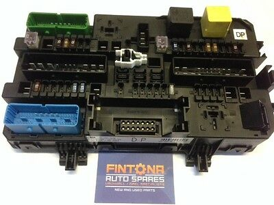 vauxhall astra h rec rear fuse box module dp / reset with tech 2 13181278